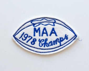 Vintage Football Patch