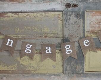 Engaged Banner / Engagement Banner / Engagement Party