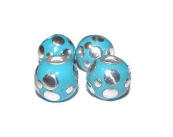 4 - 16mm beautiful hand made indonesian beads (091)