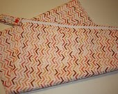 SALE Dripping Chevron Wetbag Large Holds 10-12 Cloth Diapers