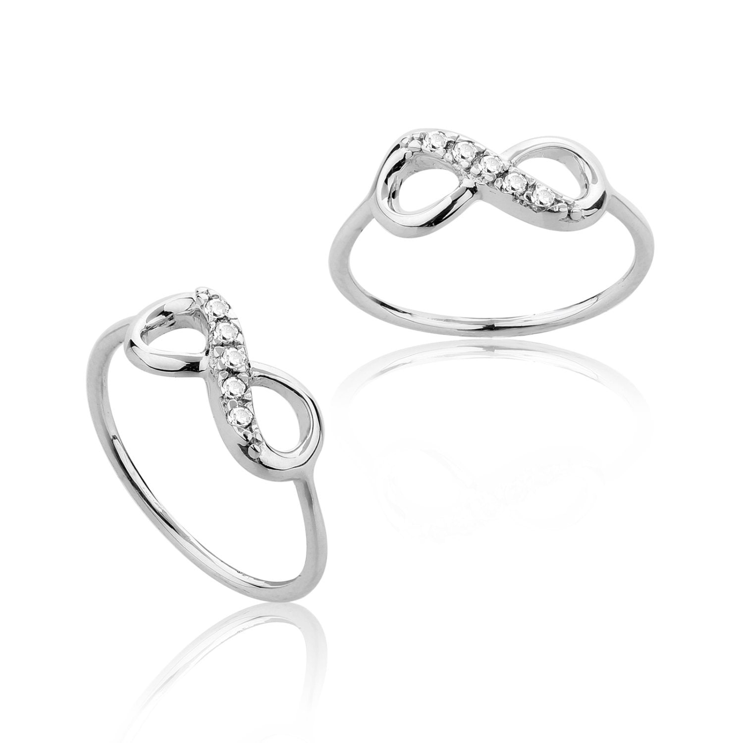 Tiffany & Co Inspired Infinity Ring Infinity love by MimicDesign