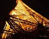 Eiffel Tower Paris, Paris Architecture, French design, Parisian, Wanderlust, travel photography, romantic, Paris night lights, for her