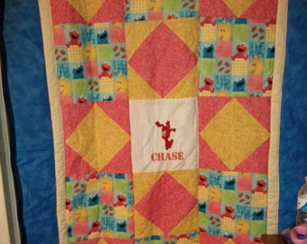 Elmo Baby/Toddler Quilt