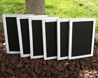 Wedding Chalkboards, Rustic Signs, Rustic Wedding Chalkboard Set of 15 - Rustic Chalkboards - Wooden Chalkboards