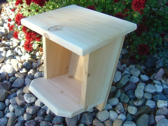Robin / Mourning Dove / Swallow Nest Box by bishgrg on Etsy