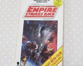 Vintage Retro The Empire Strikes Back Book with Photos 1980 Paperback