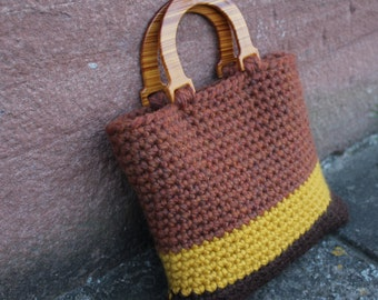 CROCHET PATTERNS - Ladies Clutch Purse Retro style in 3 colours - Listing64