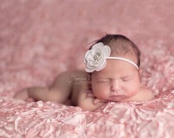 white headband..baby girls white headband..girls whtie headband..white headbands