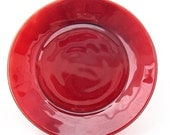 Royal Ruby Depression Glass Dessert Plate