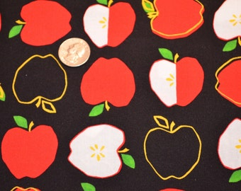 Robert Kaufman APPLES fabric Metro Market
