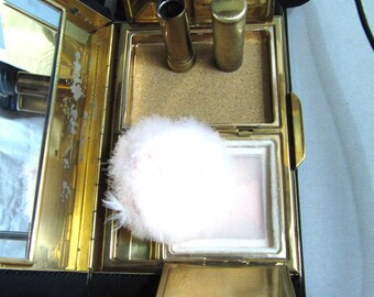 1950's Lady  black evening clutch collector