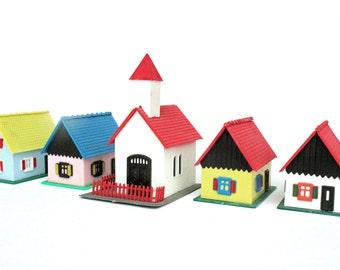 Vintage Plastic Village