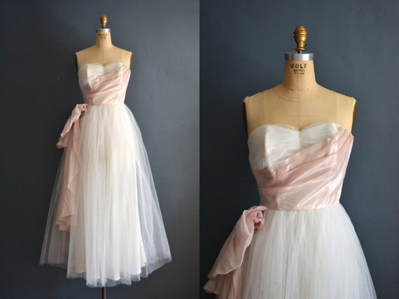 Sale 50s party dress vintage 1950s wedding dress for 1950s style wedding dresses for sale