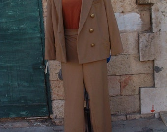 free shipping GIANFRANCO FERRE suit pants never been ware made in Italy circa 1993's size US 8 EU40