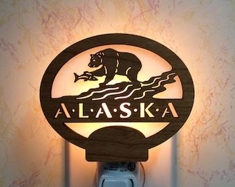 Alaska Bear Night Light