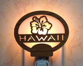 Hawaii Hibiscus Night Light
