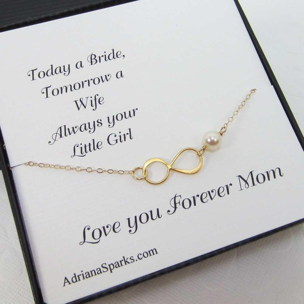 Mother Of The Bride Gifts: Mother Of The Bride Infinity Bracelet Mothers Gifts Mother
