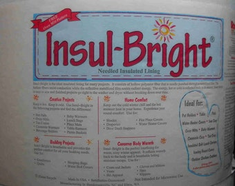 Insul Bright Insulated Batting by the yard