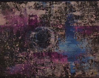 Untitled 18x24 Acrylic on Canvas 013