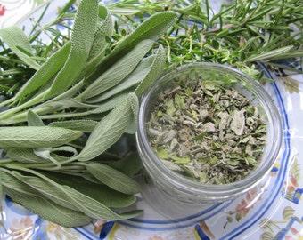 ITALIAN HERB BLEND - freshly dried, organic, homegrown herbs, hand blended, artisan