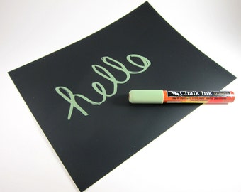Chalkboard Paper Chalk Paper - Available in Black, Green, Red, Blue or Yellow