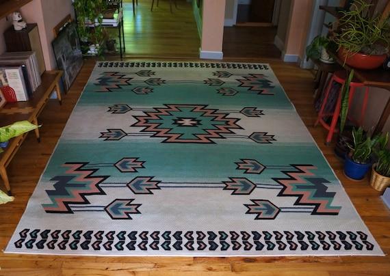 navajo print rug   roselawnlutheran