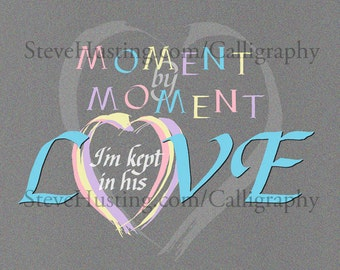 Moment by Moment, hymn