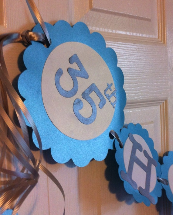 35th anniversary party decorations personalization available for 35th birthday decoration ideas