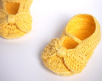 Linen Baby Girl Shoes, Baby Girl Gift, Christening/Blessing Baby Shoes, Made to order