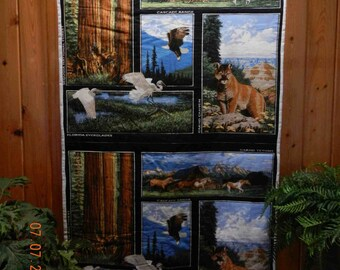 PRICE MARK DOWN....National Parks Original Handmade Quilt