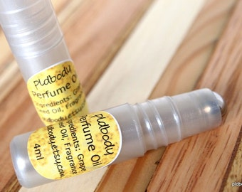 Lemongrass Perfume Oil Roll On, 4ml, Vegan