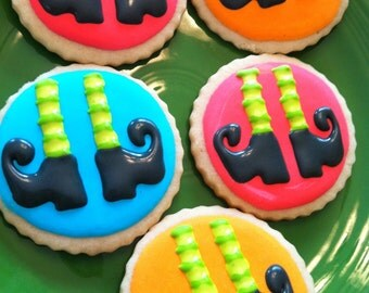 Witch feet cookies