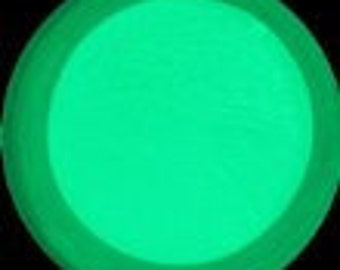 Craft Glow - Electric Green Glow in the Dark Pigment Powder - 4 ounce jar