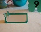3D butterfly place cards great for weddings, showers, birthdays, anniversaries (wording not included)