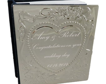 Wedding Photo Album- Personalized- Wedding Gift- Anniversary Gift