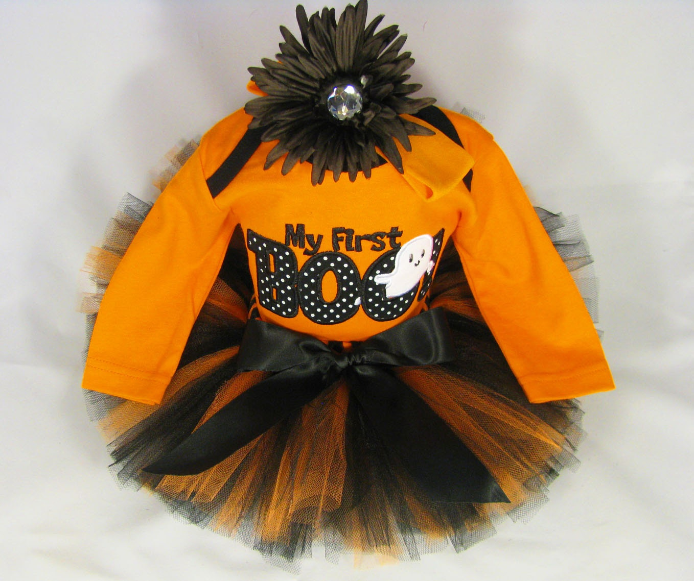 Like this item? - Babys First Halloween Outfit My First Boo