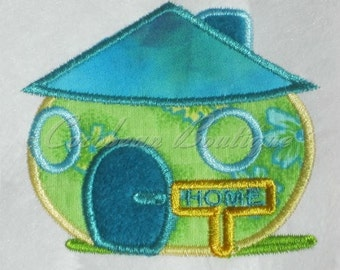 embroidery applique House 6