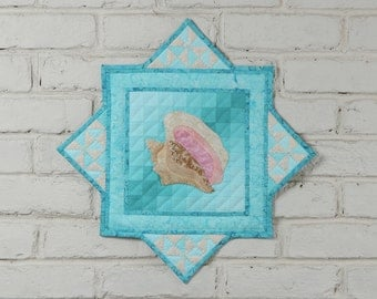 Conch Shell Wall Quilt Kit