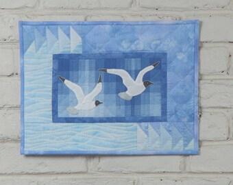 Sea Gulls Wall Quilt Pattern