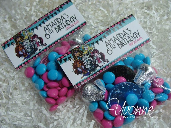 Monster High Party Goody Bags