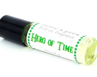 Hero of Time  Roll-on Fragrance - dragons blood, patchouli, musk