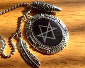 Team Free Will Necklace - Inspired by Supernatural