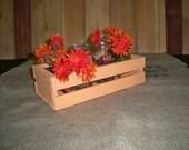 Wedding Crate Centerpiece,Wooden Crate,Antique Wood Crate, Wood center piece, Wood CrateCenter Piece,Wood Crate, Rustic Center Piece