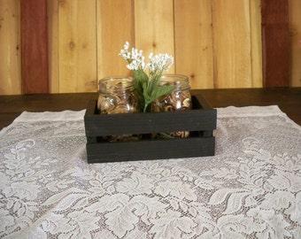 Wedding Centerpiece, Crate Center Piece, Table Center Piece, Wood Crate Centerpiece,Decorative  Center Piece , Rustic Center Piece,