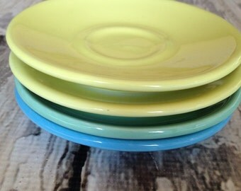 Vintage saucers made in Italy