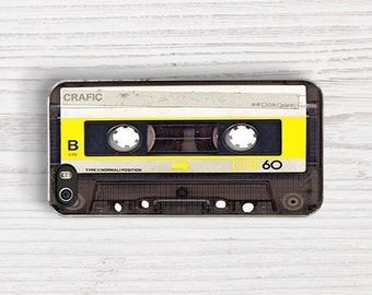 Yellow Cassette IPHONE CASE | iPhone 6/6S | iPhone 6/6S PLUS | iPhone 5/5S | iPhone 5C | iPhone 7 case