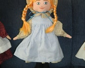 Anne of Green Gables Cloth Doll