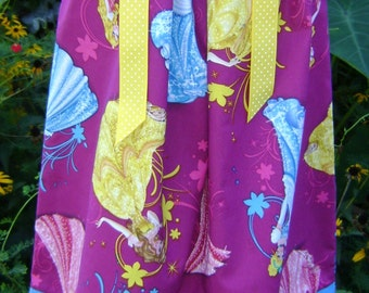 Disney Princess boutique pillowcase dress sizes 3 Months thru 6/7 :CH038