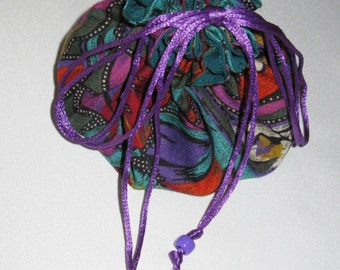 Jewel-Toned Happy Trails Jewelry Carrier