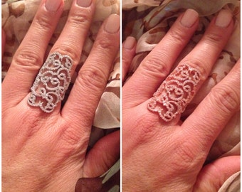 Pave Tattoo Ring